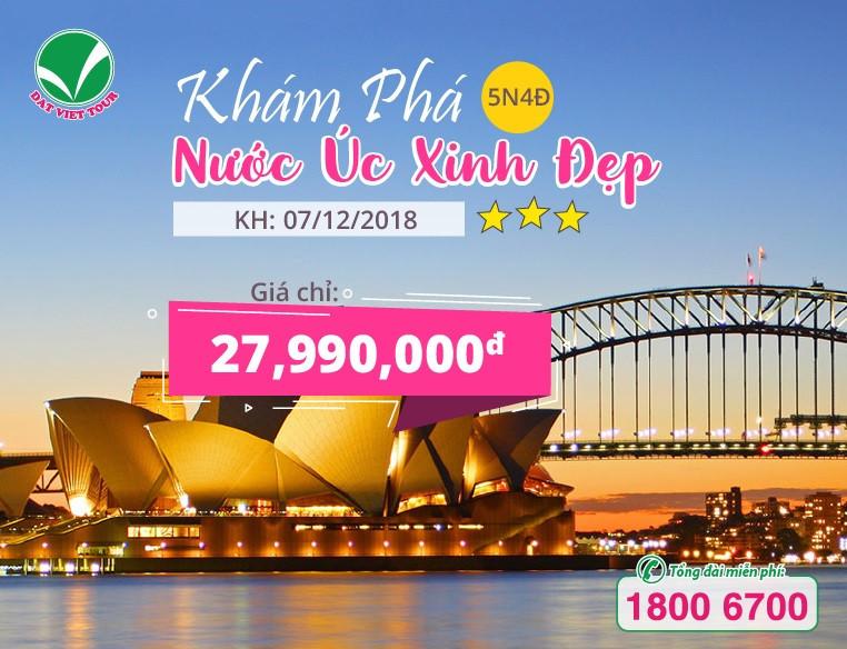 Tour Úc